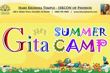 Gita Summer Camp For Kids - ISKCON of Phoenix