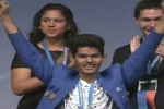 Indian boy wins the world's largest pre-college science competition in US