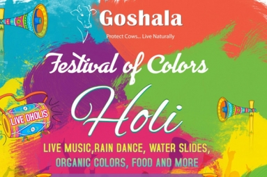 HOLI - Festival of Colors - AZ Goshala
