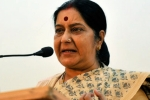 government on NRI issues, Sushma Swaraj, govt to table bill to stop nri men from deserting their wives in india, Nri husbands