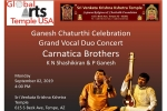 Ganesh Chaturthi Special: Grand Carnatic Vocal Duo Concert