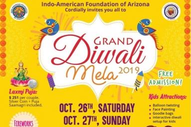 Grand Diwali Mela 2019 - IACRF