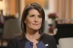 Haley Says Trump's 'Unpredictable' Nature Helped Her Get Job Done at UN