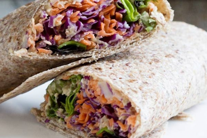 Healthy Mixed Sprouts Wrap Recipe