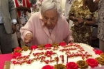 Louise Jean Signore 107 year birthday, Louise Jean Signore 107 year old birthday, new york woman celebrates her 107th birthday says never getting married is secret to her longevity, Manhattan