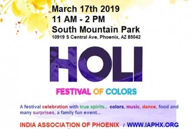 Holi - Festival of Colors - India Association of Phoenix