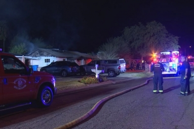 House fire killed an elderly man in North Phoenix