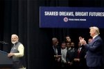 howdy modi event highlights, narendra modi speech at howdy modi, howdy modi highlights prime minister s spectacular speech turns heads, Ios