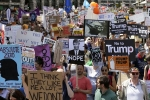 Hundreds Gather in Scottish City for Anti-Trump Protests