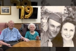 Virginia Peters, Curtis, husband 100 and wife 103 credit hersey s chocolate as the secret to their 79 year of marriage, Party