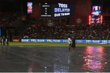 Rain wash-out Hyderabad vs Bangalore