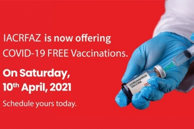 IACRFAZ Is Now Offering COVID-19 Free Vaccinations