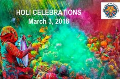 IACRFAZ - Holi Celebrations 2018