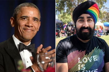 Pride Month 2019: Sikh Man's Rainbow Turban Impresses Barack Obama