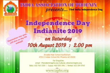 India Nite 2019 - India Association of Phoenix