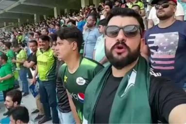 India vs England Match: Pakistani Cricket Fan Sings 'Jana Gana Mana', Video Goes Viral