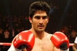 American Mike Snider, Indian boxing ace Vijender Singh, indian boxing ace vijender singh looks forward to his first pro fight in usa, Vijender singh