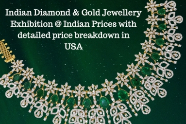 Indian Diamond & Gold Jewellery Exhibition @ Indian Prices