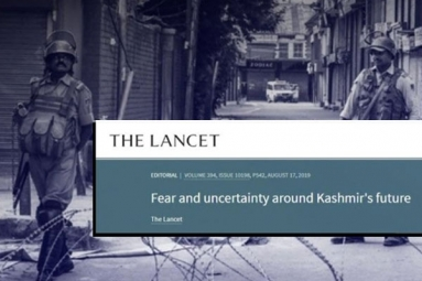 Indian Origin Doctors' Union Condemns 'The Lancet' for J&K Editorial