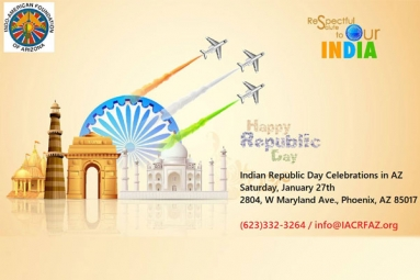 Indian Republic Day Celebrations - IACRFAZ