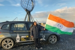 Indian woman Arctic Expedition, Bharulata sets record, indian woman sets world record in arctic expedition, Bharulata patel kamble