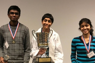 Indian-origin teens Sweep National Brain Bee Championship