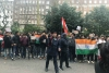 Indians Protest in London Over Pulwama Terror Attack
