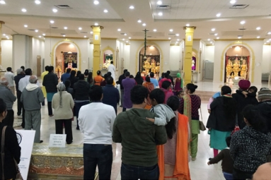 Hundreds of Indians in Arizona Come Together to Pray for the Lost Brave hearts in the Pulwama Attack