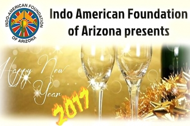Exemplary New Year celebrations by Indo-American Cultural and Religious Foundation of Arizona