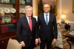gokhale john bolton, india us, foreign secretary meets us national security advisor john bolton, Nsa john bolton