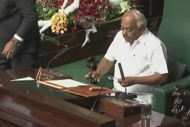 Karnataka Floor Test Update: Congress Leader K.R. Ramesh Kumar Elected as Speaker