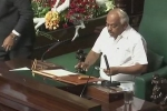 Karnataka Floor Test Update: Congress Leader K.R. Ramesh Kumar Elected as Speaker