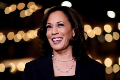 Kamala Harris Surges to Second Spot Among Democratic Presidential Aspirants