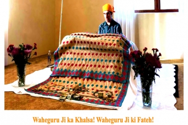 Special Kirtan with Vikram Singh Ji! Join October Sahaj Path