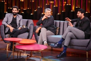 Baahubali Trio Shares Coffee Couch on 'Koffee with Karan'