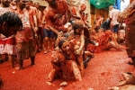 la tomatina tickets, how did la tomatina start, la tomatina 2019 thousands hurl fruit at fun food festival, Fall