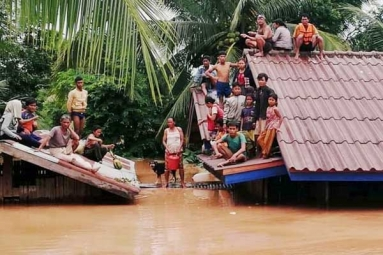 Hundreds Missing as Laos Dam Collapses