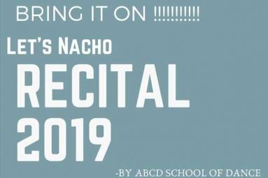 Let's Nacho Recital 2019