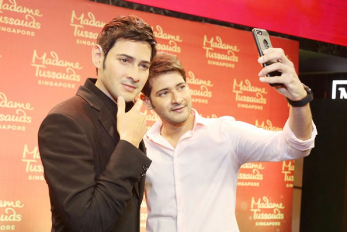 Mahesh Babu's Wax Statue for Madame Tussauds Unveiled at Hyderabad's AMB Cinemas