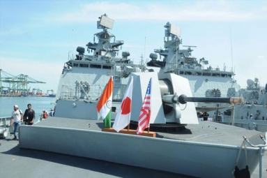 India, U.S, Japan Navies to Participate in Malabar Naval Exercise