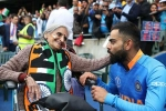 Charulata Patel, Charulata Patel, meet charulata patel the 87 year old cricket fan who steadily seen cheering for india at edgbaston, Indian captain