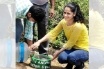 Durga Sura, water for animals in summer, meet durga sura an nri striving to serve water for stray animals and birds this harsh summer, Pants