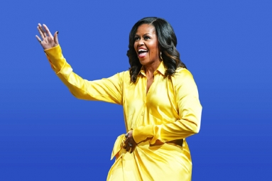 Michelle Obama Wins America's 'Most Admired Woman' Title