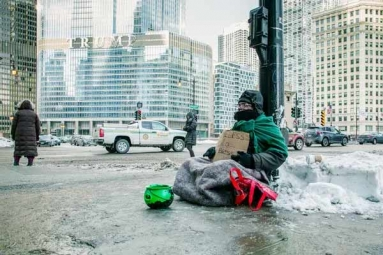 Midwest Cities in Bid to Keep Homeless from Chancy Cold