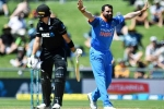 100 wickets, INDIA vs NEW ZEALAND, mohammed shami fastest indian to take 100 odi wickets, Kane williamson