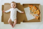 Baby Monthly Milestone Pictures, Baby Monthly Milestone Pictures, mom documents her baby s monthly growth with pizza check out creative baby monthly milestone pictures, Pizza