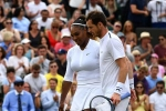 andy murray, Wimbledon Mixed Doubles, andy murray and serena williams knocked out of wimbledon mixed doubles race, Brazil