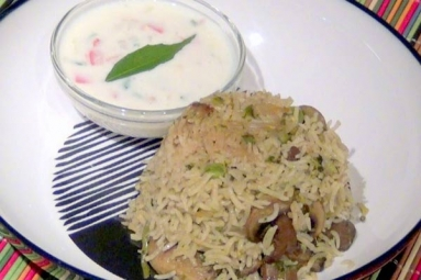 Tasty and Yummy Mushroom Pulao Recipe