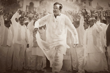 NBK Stuns as NTR in Traditional Look