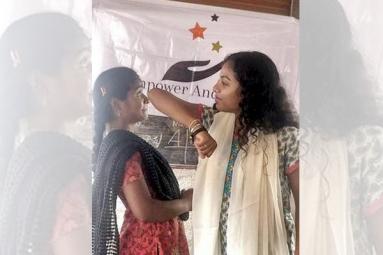 NRI Teen in Bid to Empower Girls in India